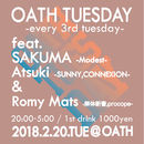 OATH TUESDAY -every 3rd tuesday-