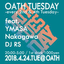 OATH TUESDAY -every 2nd&4th tuesday-