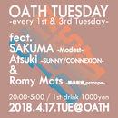 OATH TUESDAY -every 3rd tuesday-