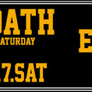 THE OATH -every 3rd saturday-